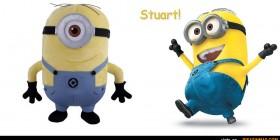 Peluche Minion Stuart