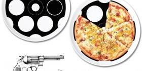 Plato Pizza Ruleta rusa