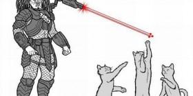 Predator (Depredador) el terror de los gatos