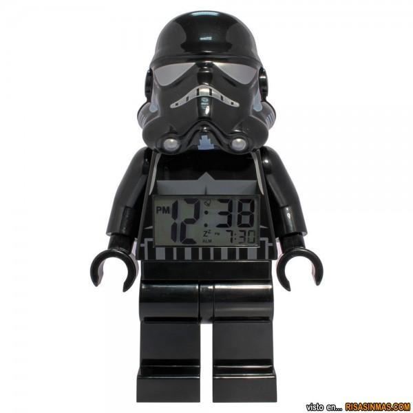 Reloj despertador Shadow Trooper de LEGO