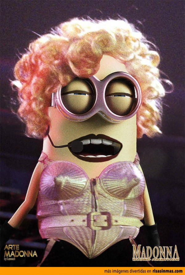 Si Madonna fuera una Minion...