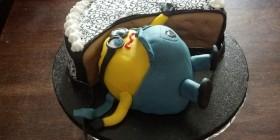 Tarta Minion glotón