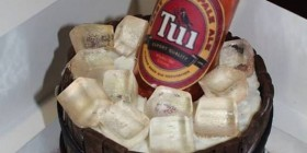 Tartas originales: cerveza helada