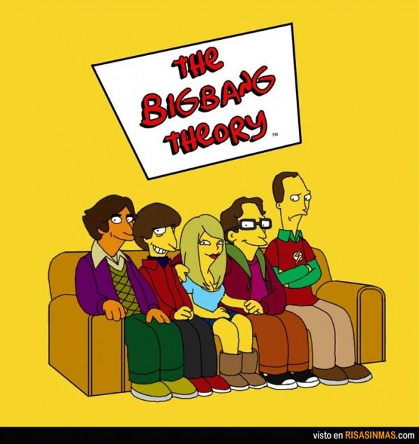 The Big Bang Theory simpsonizados