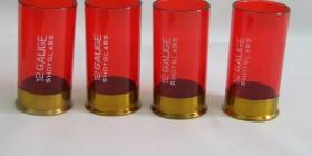 Vasos de chupito cartuchos de escopeta