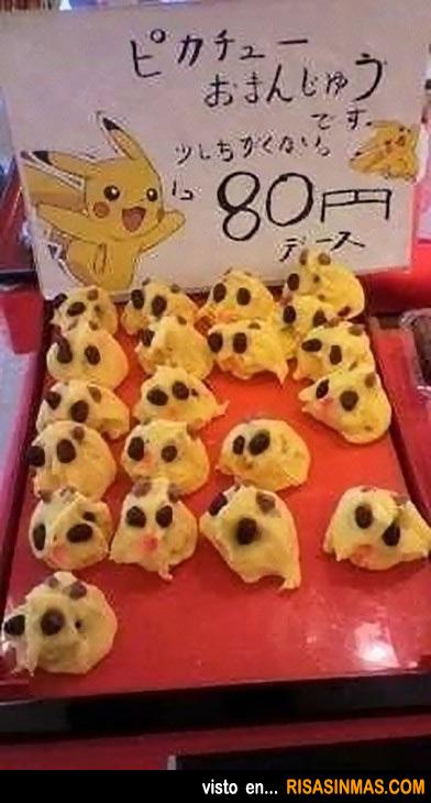Vendo dulces de ¿Pikachu?