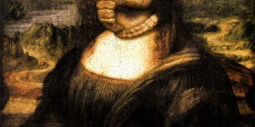 Versiones divertidas de La Mona Lisa: Alien