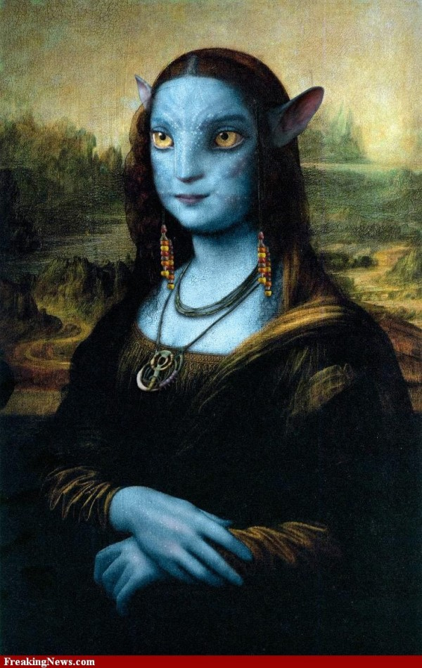 Versiones divertidas de La Mona Lisa: Avatar