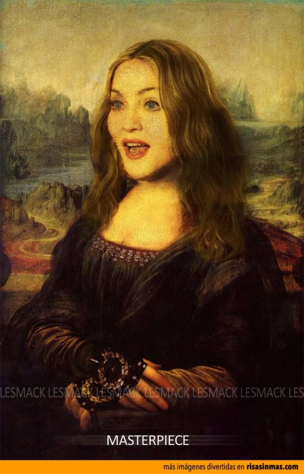 Versiones divertidas de La Mona Lisa: Madonna