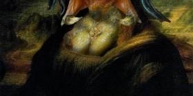 Versiones divertidas de La Mona Lisa: Predator