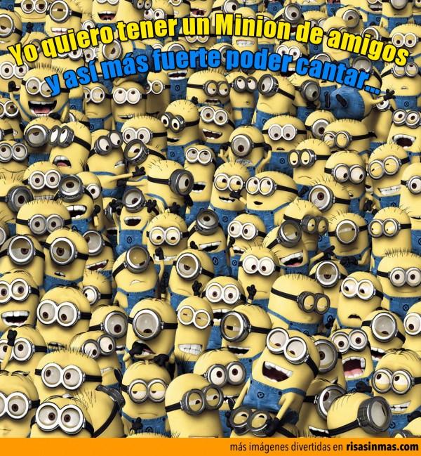 Yo quiero tener un Minion de amigos