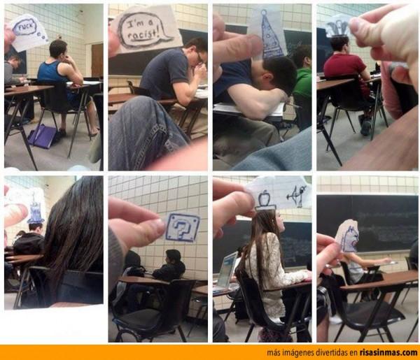 Una clase algo aburrida