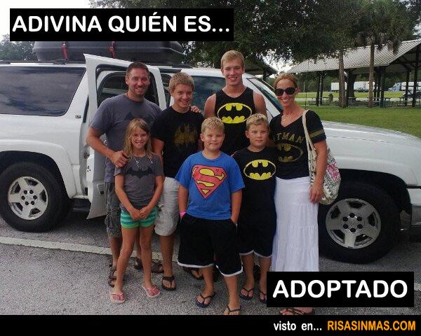 Adivina quién es adoptado