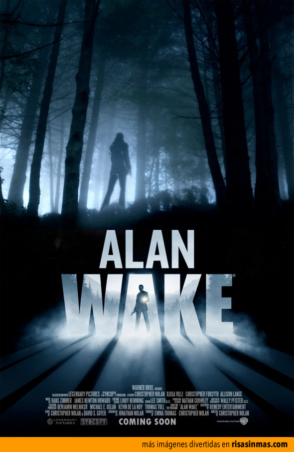 Próximamente: Alan Wake