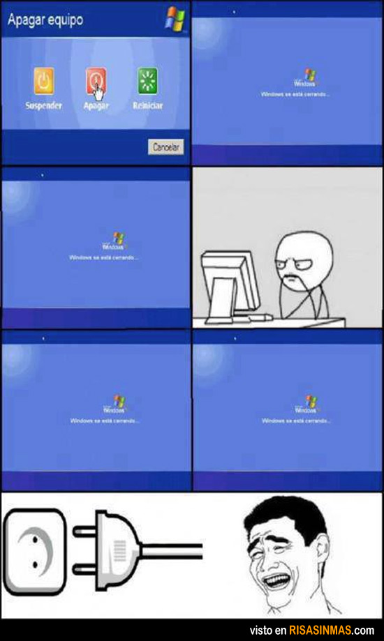 Apagando Windows