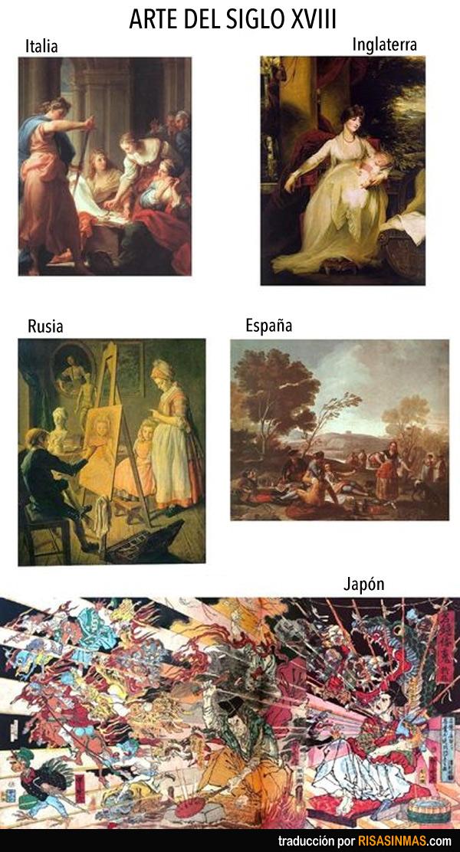 Arte del Siglo XVIII