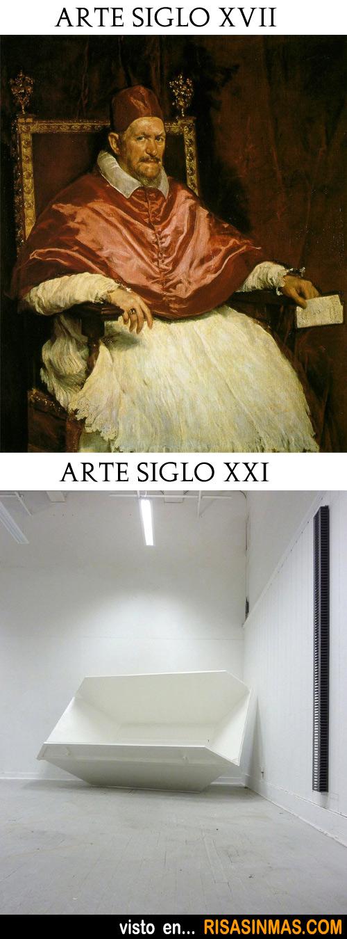 Arte del Siglo XVII y el arte del Siglo XXI