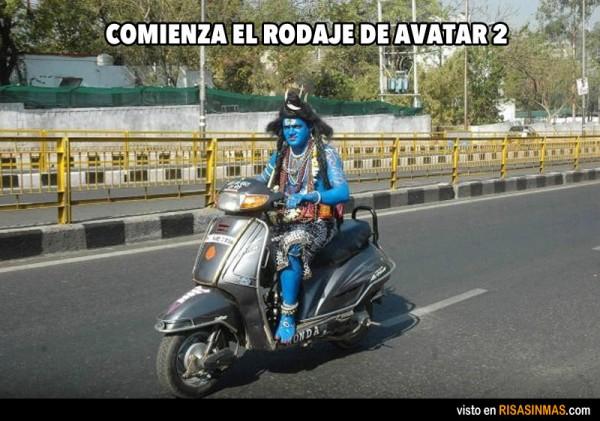 Rodaje de Avatar 2