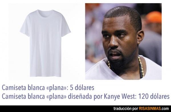 El chollo de las camisetas de Kanye West