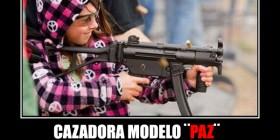 Cazadora modelo