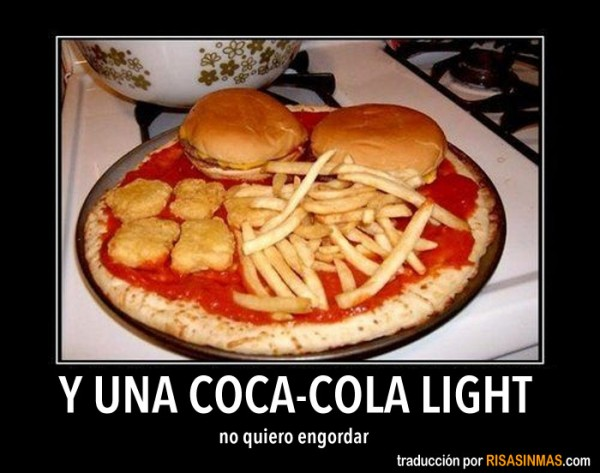 Y una Coca-cola light