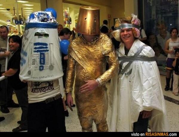 Probablemente los peores disfraces de Star Wars