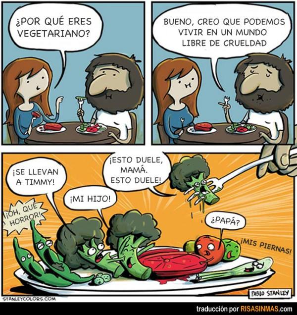 historia de la comida vegetariana: