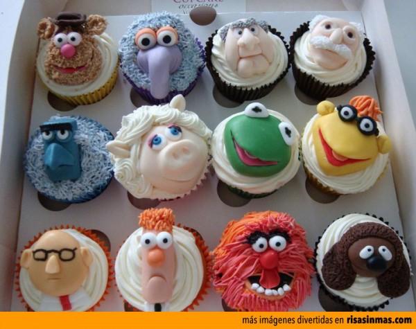 Cupcakes originales: Teleñecos