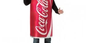 Disfraces originales: Lata de Coca-Cola