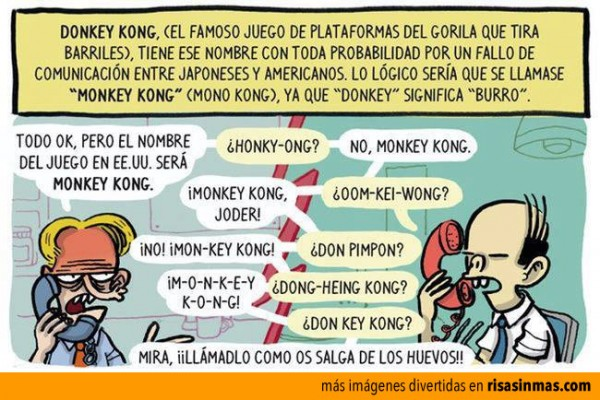 El origen de Donkey Kong