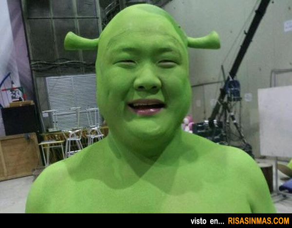 Encontramos al doble de Shrek