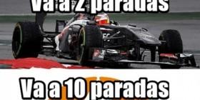 Estrategia en la Fórmula 1