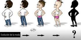 Evolución de la moda