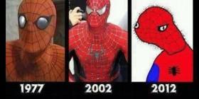 Evolución de Spiderman