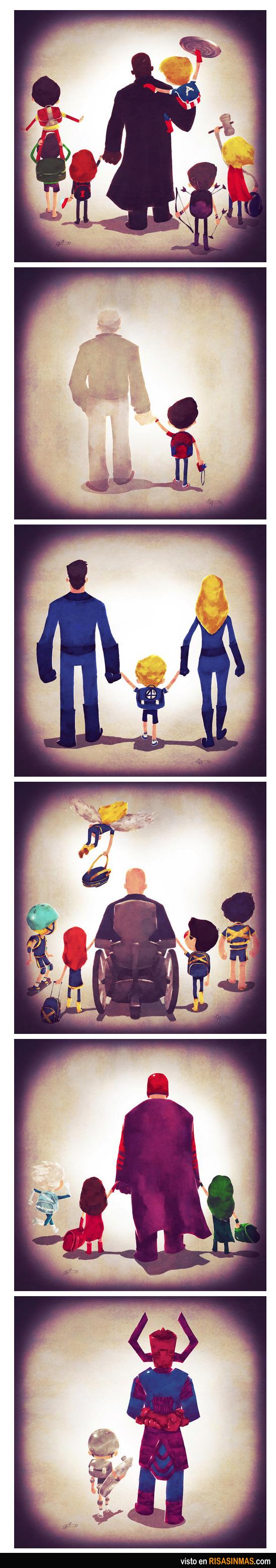 Familias Marvel