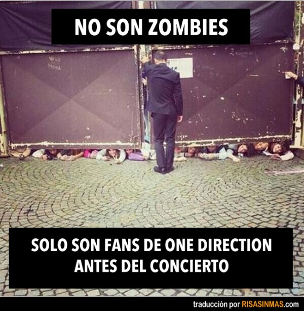 No son zombies