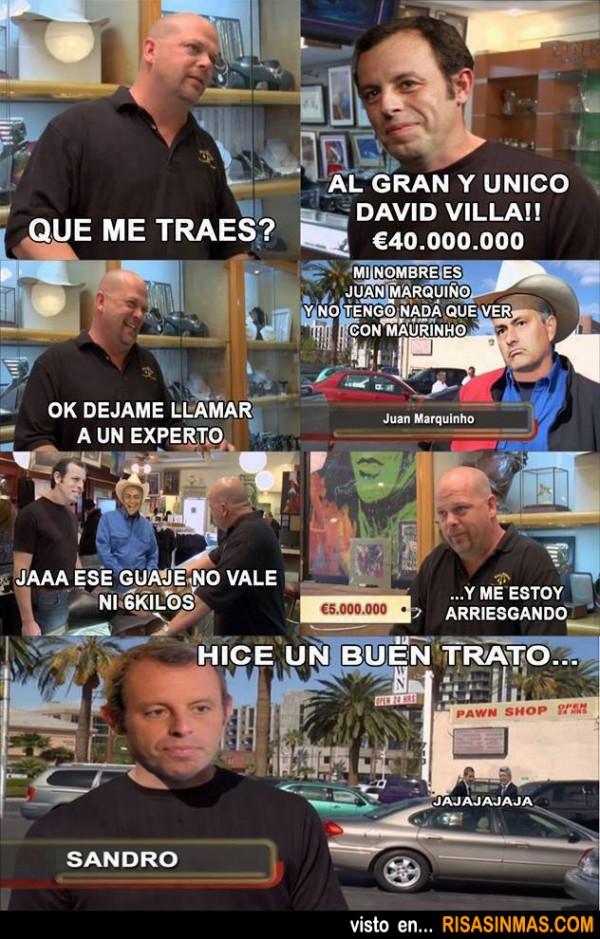 Fichaje de David Villa