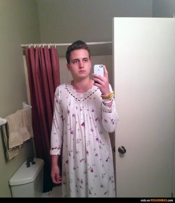 La espeluznante moda del camisón