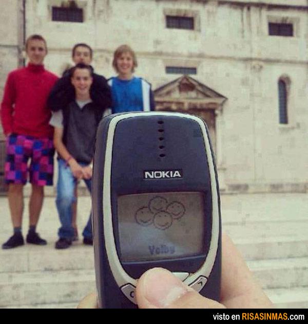 Las fotos de los móviles hace 10 años