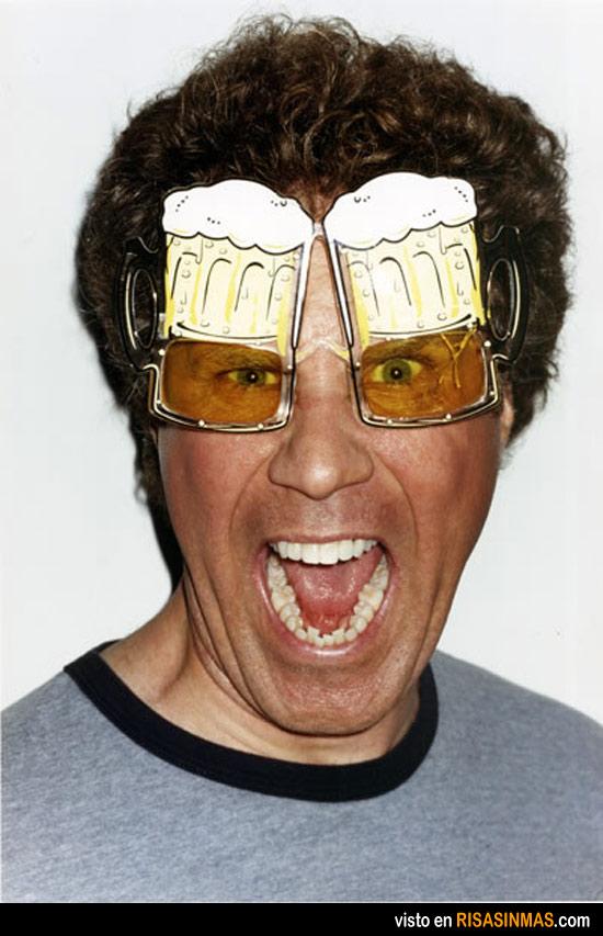 Gafas originales: cervezas
