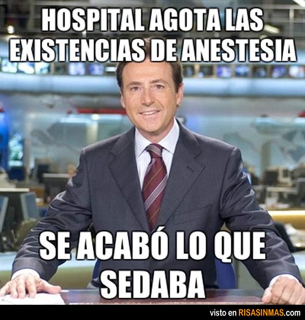 Hospital agota las existencias