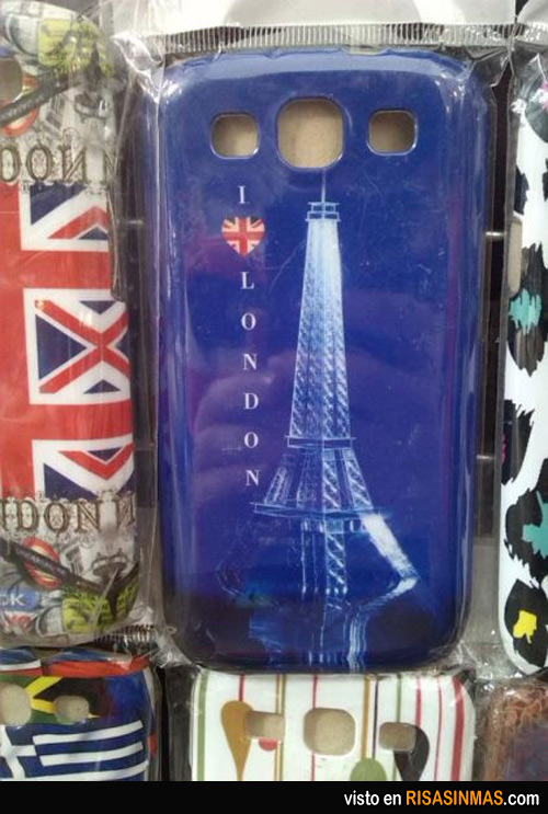 I love London (made in China)