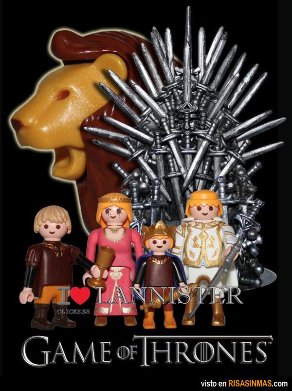 Los Lannister versión Playmobil
