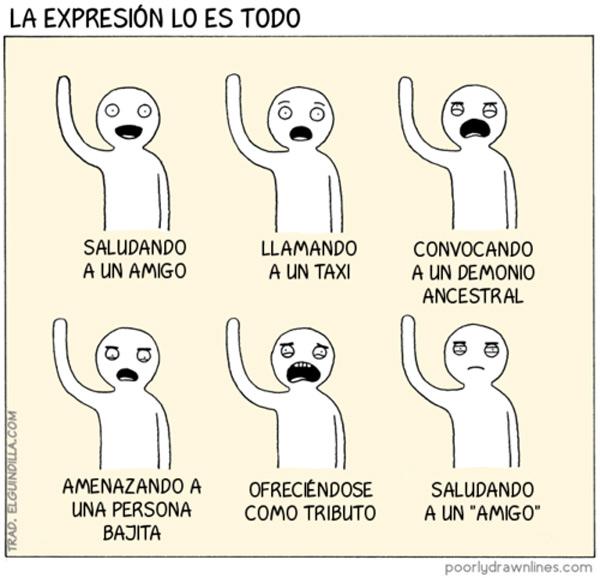 La expresión lo es todo