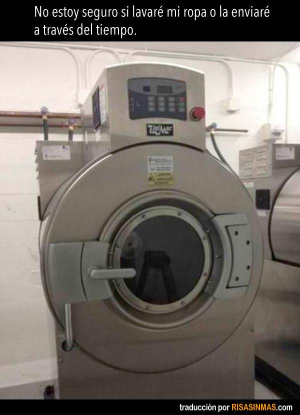 La lavadora del futuro
