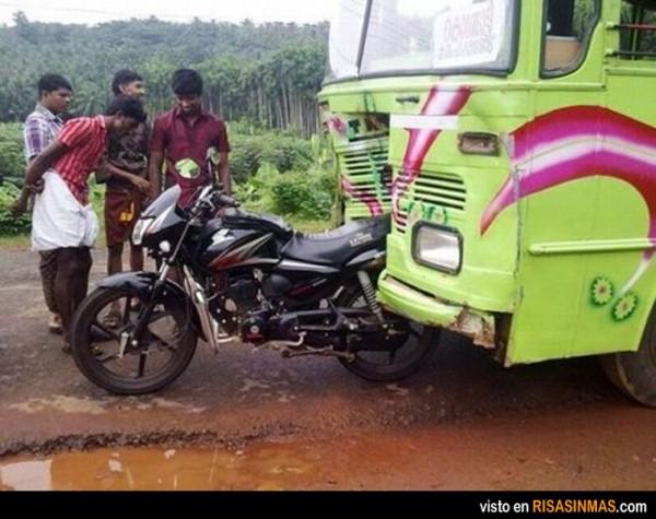 La moto de Ironman