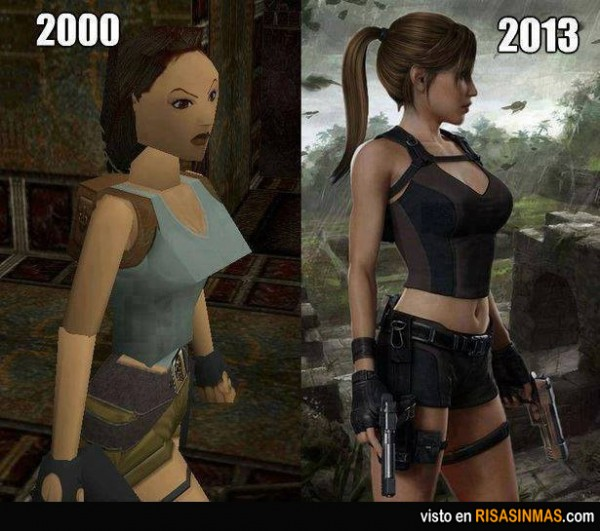 Lara Croft 2000-2013