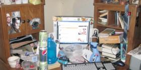 Los mejores escritorios: inquietante