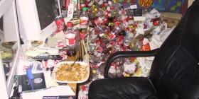 Los mejores escritorios: reciclando basura