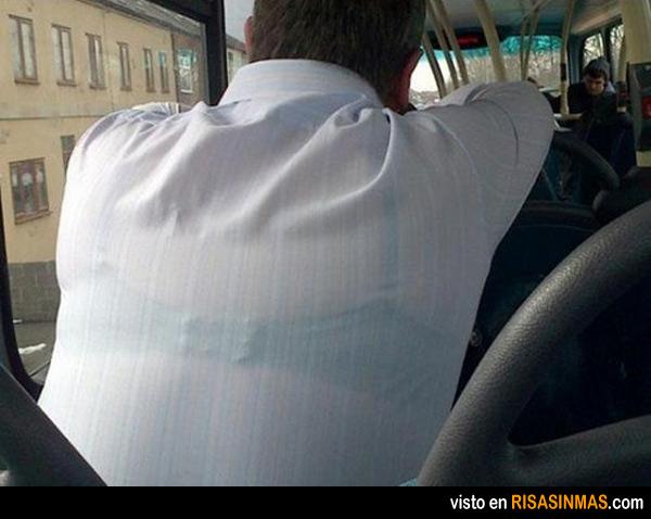 Mala elección de camisa